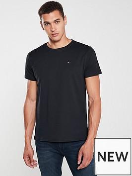 tommy-jeans-original-flag-logo-t-shirt-black