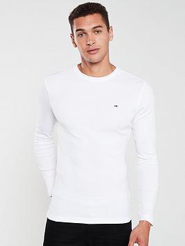 tommy-jeans-original-flag-logo-long-sleeved-t-shirt-white
