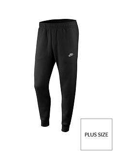 nike-sportswear-plus-size-club-fleece-joggers-black