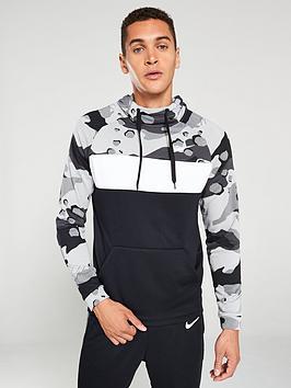 nike-dry-pullover-camo-hoodie-grey