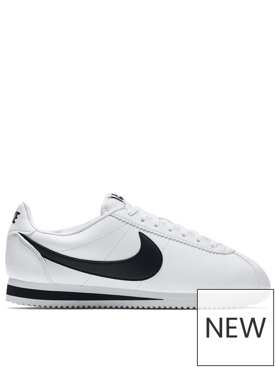 finest selection d9bc1 928a1 Cortez Basic Leather - White/Black