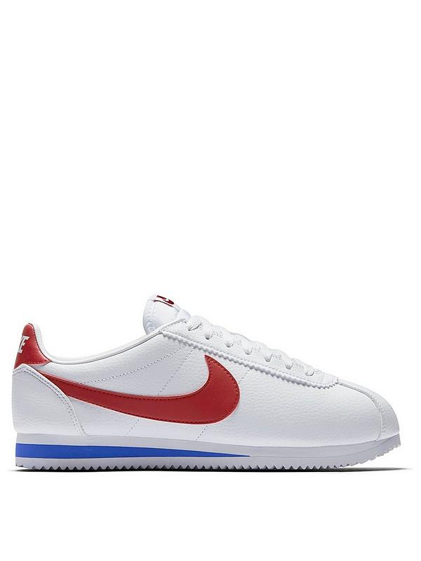 good no sale tax coupon codes Cortez Basic Leather - White/Red