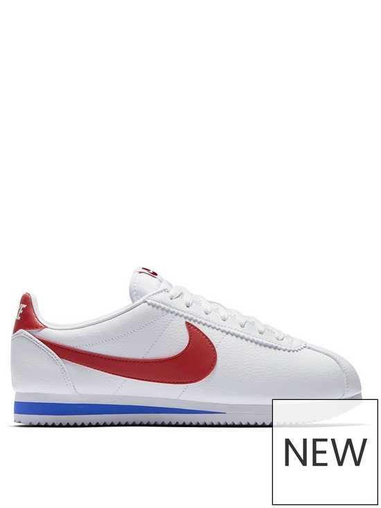 new concept 80c31 03bb4 Cortez Basic Leather - White/Red