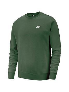 nike-sportswear-club-fleece-crew-neck-sweat-green