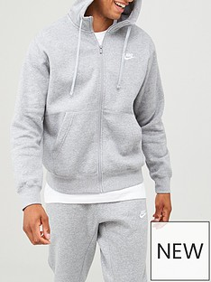 nike-sportswear-club-fleece-full-zip-hoodienbsp--dark-grey