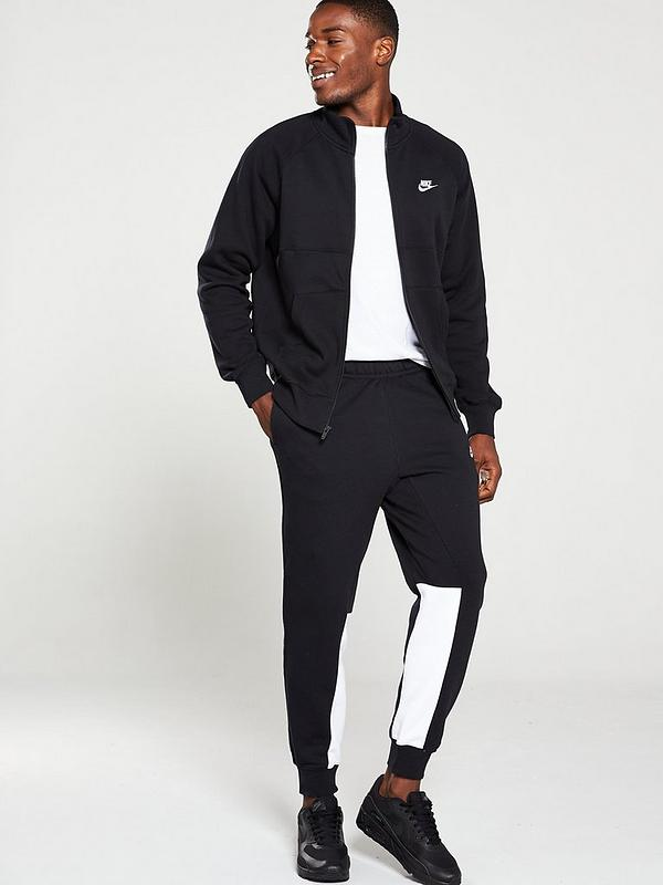 Coincidencia resbalón borracho  Nike Sportswear Fleece Tracksuit - Black | very.co.uk
