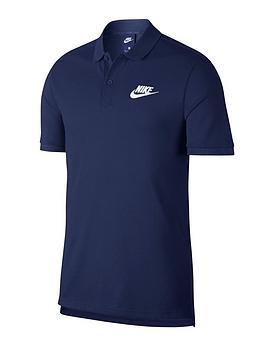 nike-sportswear-matchup-pique-polo-navywhite
