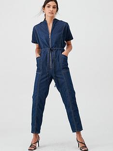 v-by-very-denim-utility-jumpsuit-dark-wash