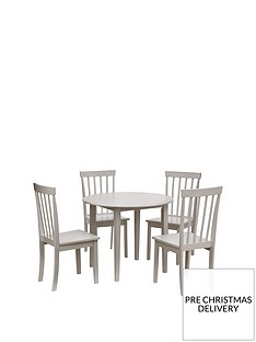 new-sophia-738-cm-round-dining-table-4-chairs