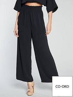 michelle-keegan-wide-leg-culotte-co-ordnbsp--black