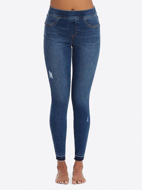 Women Stretch Jean Look Ankle-length Legging FAB-901