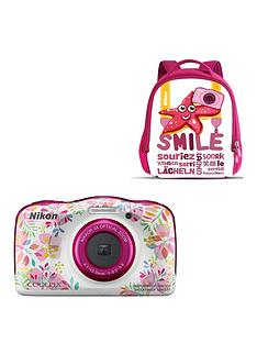 nikon-coolpix-w150-camera-and-backpack-kit-flowers