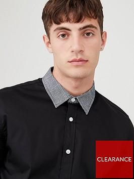 v-by-very-houndstooth-collar-shirt-black