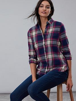 joules-joules-lorena-bruched-longline-woven-shirt