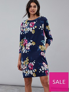 joules-daisy-boat-neck-woven-dress