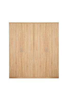 home-essentials--nbspperu-4-door-wardrobe