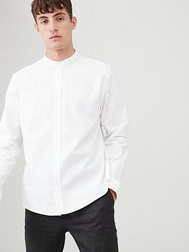 v-by-very-grandad-collar-oxford-shirt-white