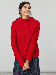 joules-jamie-cable-knit-jumper-red