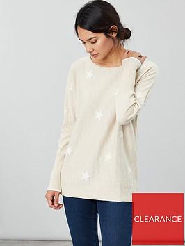 joules-star-print-round-neck-jumper