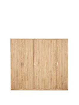 home-essentials--nbspperu-5-door-wardrobe