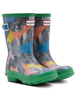 hunter-original-kids-storm-camo-wellington-boots-multi