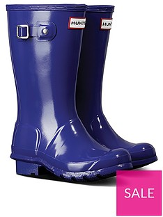hunter-original-kids-gloss-wellington-boots-purple