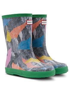 hunter-kids-first-storm-camo-wellington-boots-multi