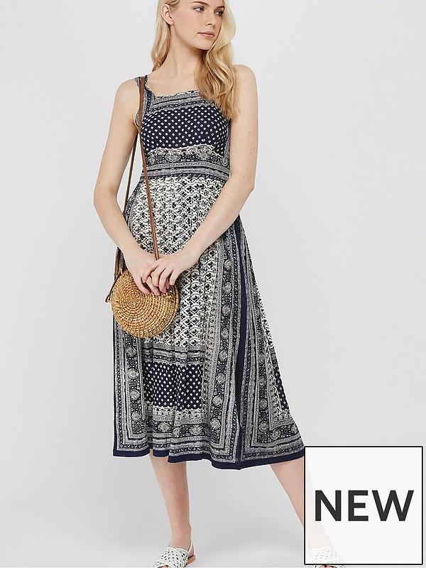 a9c53460bbc Monsoon Adriana Jersey Dress | very.co.uk