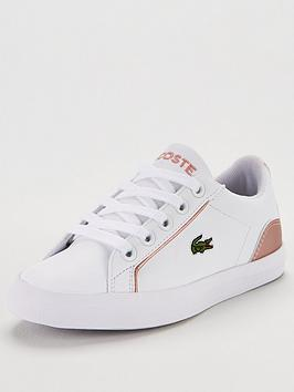 lacoste-lerond-319-2-trainers-whitepink