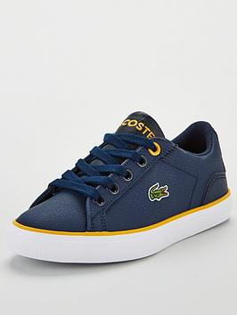 lacoste-lerond-319-1-trainers-navyyellow