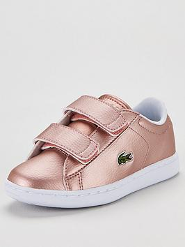 lacoste-carnaby-evo-strap-319-trainers-metallic-pink
