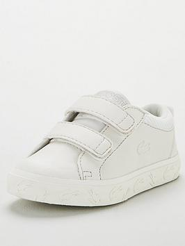 lacoste-infant-strap-straightset-319-4-trainers-white