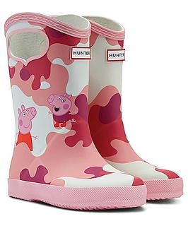 hunter-kids-first-classic-pull-on-peppa-pig-muddy-puddles-wellington-boots-pink