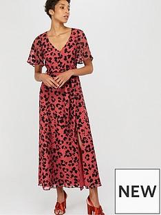 5e45fd977 Monsoon Monsoon Annie Animal Burnout Maxi Dress