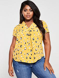 monsoon-curve-lauren-leopard-print-blouse-yellow