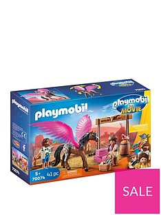 playmobil-playmobil-70074-marla-and-del-with-pegasus