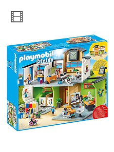 playmobil-playmobil-9453-city-life-furnished-school-building-with-digital-clock