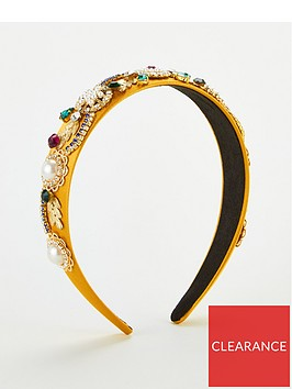 v-by-very-satin-embellishednbspheadband-mustard