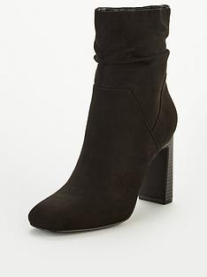 v-by-very-rose-square-toe-slouch-heeled-calf-boots-black