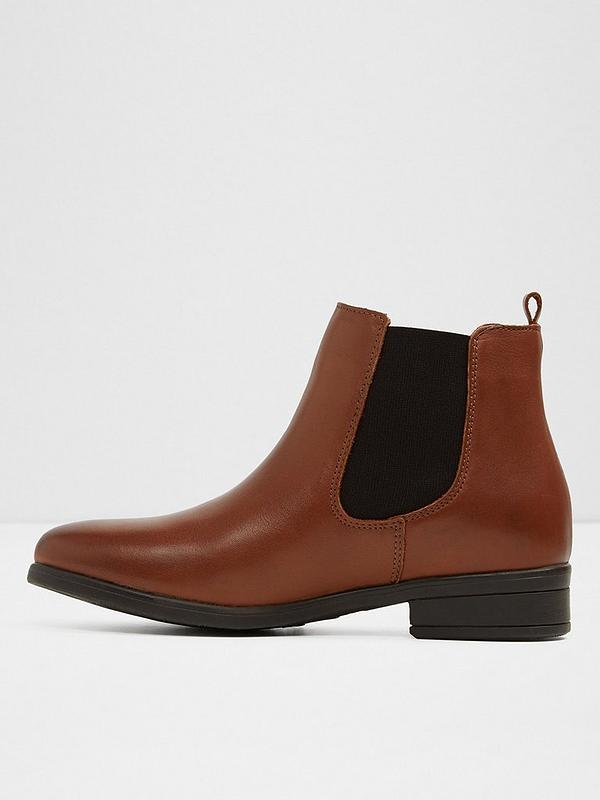 big sale great quality cheap prices Aldo Wicoeni Chelsea Ankle Boots - Brown | very.co.uk