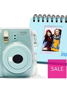 fujifilm-instax-mini-9-camera-kit-with-10x-macaron-film-glitter-case-amp-flip-album