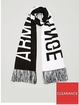 armani-exchange-logo-scarf