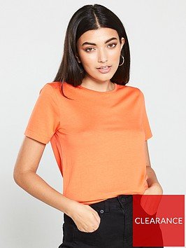 v-by-very-scoop-neck-t-shirt-orange