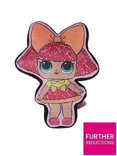 lol-surprise-lol-surprise-glitter-queen-shaped-cushion