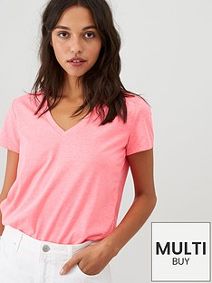 v-by-very-the-essential-v-neck-top-pink
