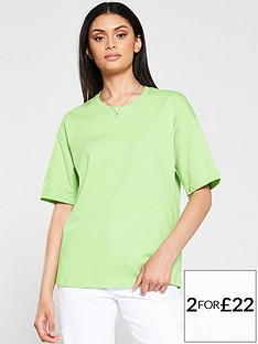 v-by-very-the-essential-boxy-t-shirt-green