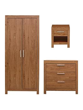 cuba-3-piece-package-2-door-wardrobe-3-drawer-chest-and-1-drawer-bedside-chest