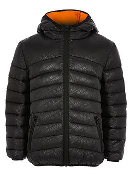 river-island-boys-printed-hooded-padded-jacket-black