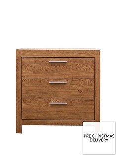Cuba 3 Drawer Chest