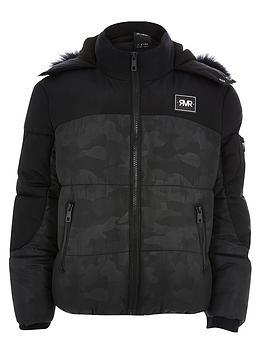 river-island-boys-black-camo-padded-jacket